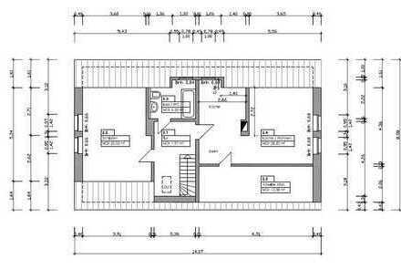 2-Zimmer-Dachgeschosseinliegerwohnung mit Küche in Nordvorpommern (Kreis)