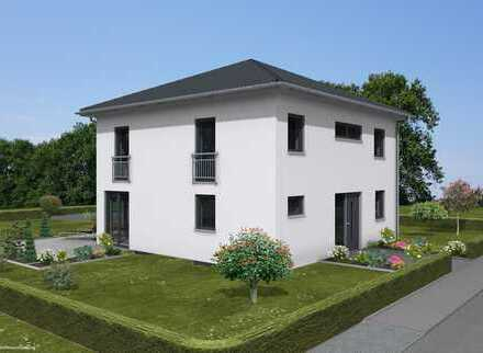 Morderne Stadtvilla (Ausbauhaus)mit 850m² Grundstück direkt in Mittelbiberach