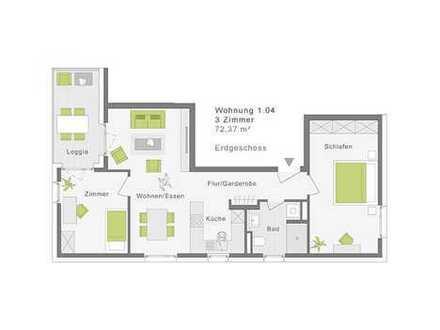 3-Zimmerwohnung Westlage