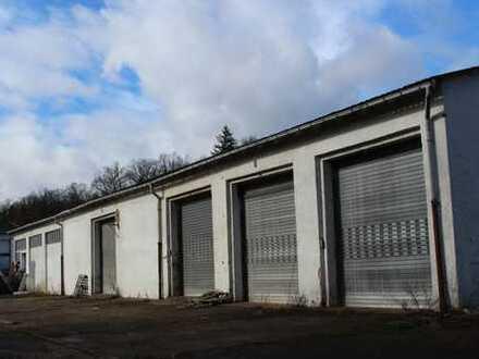 600 qm Halle mit Grundstück unweit der A4 Anschluss Gotha