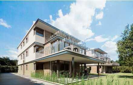 Erstbezug: Stilvolle 3-Zimmer-EG-Wohnung mit Terrasse und Garten in Rosenheim
