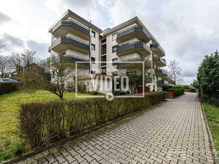 Drei-Zimmer-Eigentumswohnung (Erbbaurecht) - 2 Balkone - Keller - Aufzug - Garage -