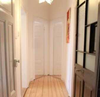 Schöne 3-Zi Wohnung mit Balkon, teilmöbliert in Karlsruhe, Südweststadt