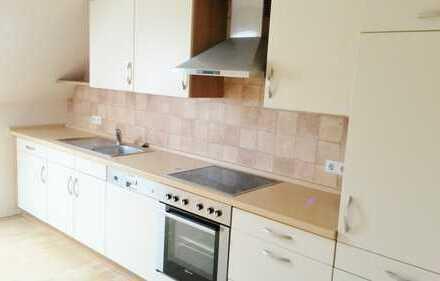 Ramsloh, geräumige Oberwohnung mit Küche und kleinem Garten ab sofort zur vermieten