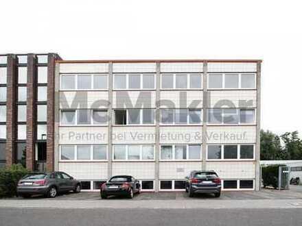 Büro- und Lagergebäude im etablierten Gewerbegebiet im Düsseldorfer Umland