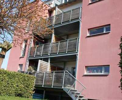 KH-Süd, Terrasse, eigener Gartenanteil+Weitblick, sehr schöne 2ZKBB, Niedrigenergiebauweise!