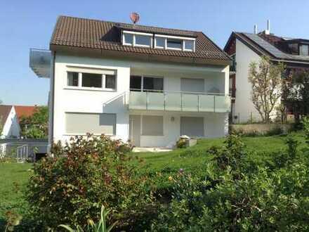 Sanierte 3,5 ZW (EG) mit Terrasse und großem Garten