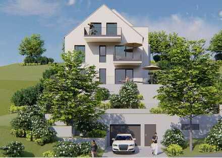 Wunderschönes Penthouse im Damm mit grüner Aussicht