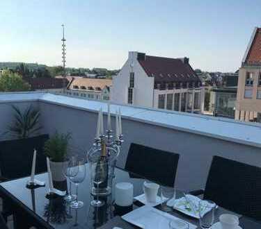 Schöne 3-ZKB Maisonettenwohnung in Gersthofen zu vermieten / große Terrasse und Stellplätze