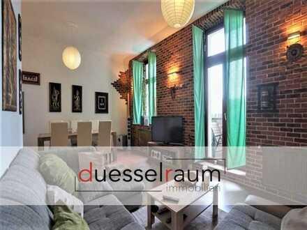 Flingern-Nord: Stilvolle 3- Zimmer Altbauwohnung mit Süd-West Balkon in sehr gefragter Lage
