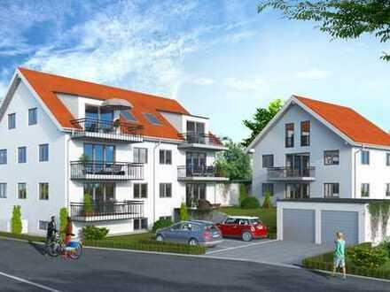 NEUBAU-ERSTBEZUG: Stilvolle 3-Zimmerwohnung mit Garten in Freising!