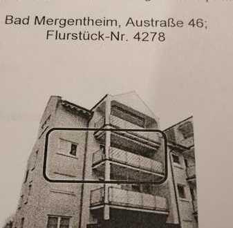 Gepflegte 3-Zimmer-Wohnung mit Balkon und EBK in Bad Mergentheim