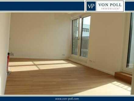 Exklusive 2 – Zimmer-life-style-Wohnung im attraktiven Neubau-Quartier – Hafenallee Offenbach