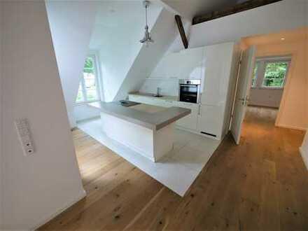 Kernsanierte 3-Raum-Wohnung I historisches Gebäude I sonnige Loggia I hochwertige Einbauküche