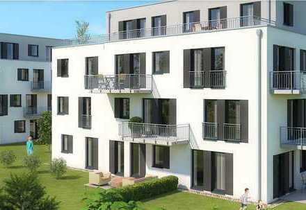 Erstbezug mit Terrasse: attraktive 2-Zimmer-Erdgeschosswohnung in Weiden