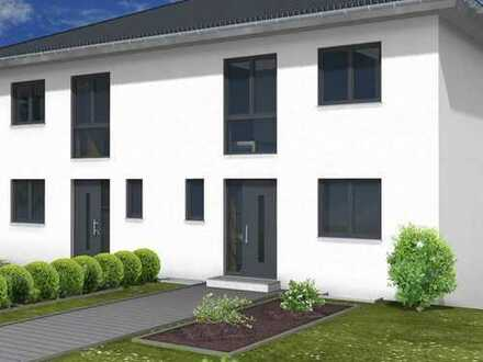 Genügend Raum für die Familie: Moderne und effiziente Doppelhaushälfte