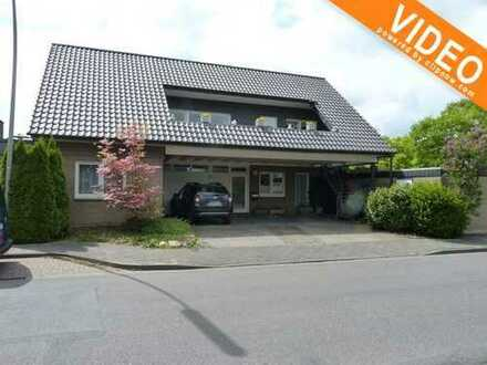 Burgsteinfurt: Attraktive Erdgeschosswohnung mit einem Carportstellplatz, Garage und Teilkeller!
