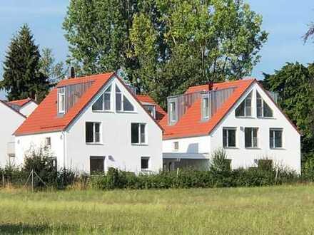 ERSTBEZUG: Modernes ökologisches Einfamilienhaus in bester Wohnlage mit herrlichem Garten