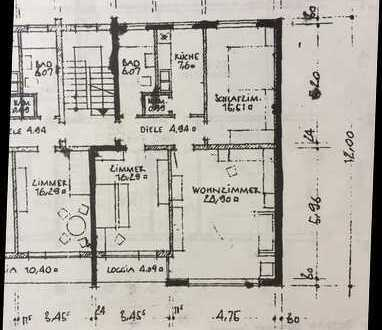 3-Zimmer-Wohnung mit Balkon und EBK in Neuhausen, München, Bestlage