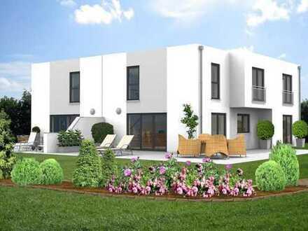 Moderne Doppelhaushälfte im neu zu erschließenden Baugebiet in Straubing-Bogen