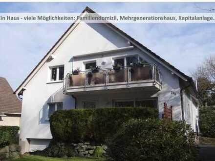 Ein Haus - viele Möglichkeiten: Familiendomizil, Mehrgenerationshaus, Kapitalanlage...