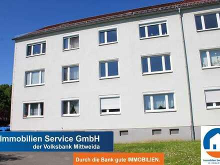 2-Zimmer-Eigentumswohnung für Kapitalanleger oder Eigennutzer in grüner ruhiger Lage von Rochlitz