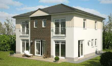BAD SALZDETFURTH- Seltene Möglichkeit!! Moderne Stadtvilla - Wohnen ohne Schräge in sehr guter Lage!