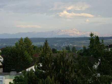 Schöne 4,5-Zimmer-Wohnung mit Bergpanorama und Teilseesicht