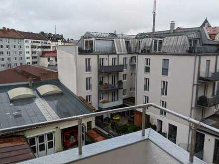Zwischen Isar und Theresienwiese - 3 Zimmer WG Wohnung