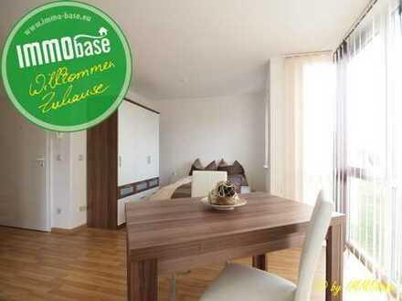 Wohnen wie im Hotel - Möbliertes Apartment mit Blick ins Grüne!