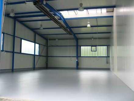 Industriehalle,neuwertig, 300 qm.