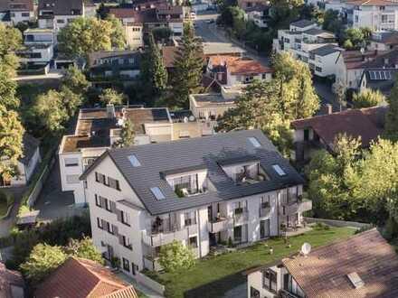 Imposante 3-Zimmer-Wohnung im 1. OG mit Terrasse und Garten (Whg. 6)