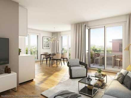 ***Geräumige 4-Zimmer-Wohnung mit Südterrasse, Tram und U-Bahn in unmittelbarer Nähe