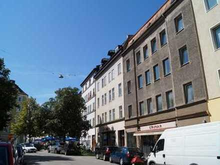 Schöne, große 3-Zi Wohnung in Bestlage Glockenbachviertel