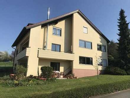 4 Zi-Whg. in gepflegtem Mehrfamilienhaus mit schönem Garten, Geisfeld