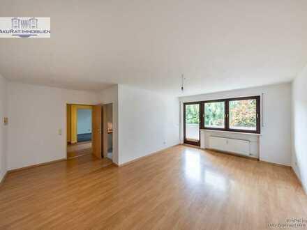 AkuRat Immobilien - Ruhige 3-Zimmer Wohnung mit Süd-West-Balkon in Olching