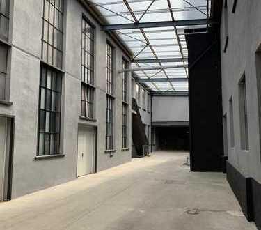 Ladenflächen in Zentrumsnähe - der Charme einer ehemaligen Tresorfabrik