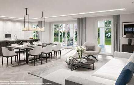 Villenpark: Elegante 4-Zimmer-Gartenwohnung mit Hobbyraum in bester Lage von Obermenzing