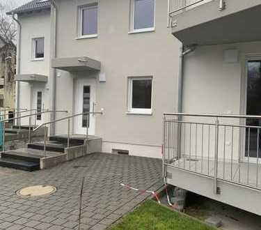 Erstbezug Neubau 3 ZI Küche, Bad, Gäste-WC, 28 qm Garten + 27qm Keller