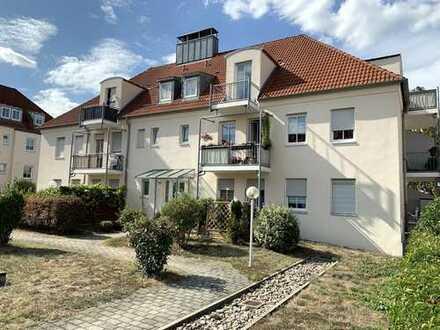 Vermietete 2-Zimmer-Wohnung mit 2 Balkonen und TG-Stellplatz in Dresden-Briesnitz