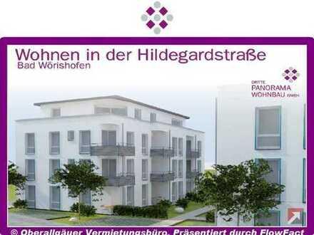 Neubau/Erstbezug-3-Zimmer-Wohnung in Bad Wörishofen mit Süd-Balkon (Whg. 04/Haus A)