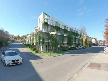 Erstbezug: 2 Zimmer mit Einbauküche, Dachterrasse, Balkon - ökologisches Wohnen, niedrige Heizkosten