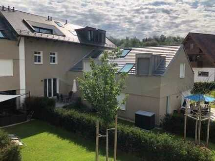 Moderne 5-Zimmer-Wohnung mit großem Garten im Norden von München