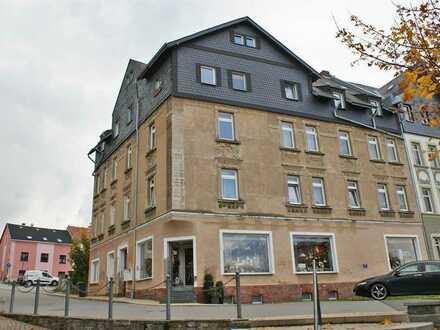 ***Günstige 3-ZKB-Wohnung im Stadtkern von Zwönitz***