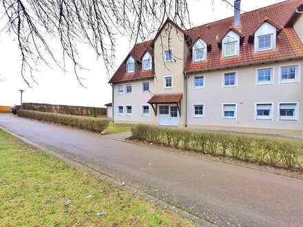 Kapitalanleger aufgepasst: Gut vermietete EG-Wohnung (3ZKB/ca.73m²) mit Süd-Terrasse in Dinkelsbühl