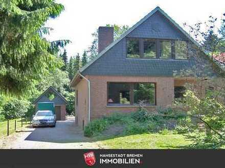 Kuhstedt / Idyllisch gelegenes Ein- oder Zweifamilienhaus auf großem Grundstück
