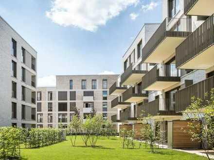 Wohnen im Grünen: Familienbewusst geschnittene 4-Zimmer-Wohnung mit Loggia