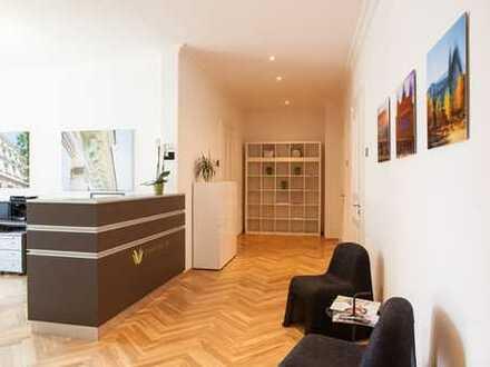 Repräsentative Bürofläche im Waldstraßenviertel!