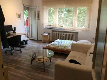 Stilvolle und ruhige 1-Zimmer-Wohnung mit Balkon in Karlsruhe Südweststadt