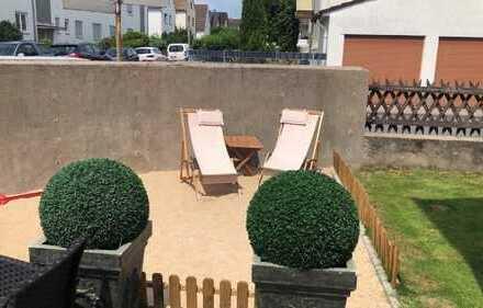 Modernisierte 4-Zimmer-Wohnung mit Gartenanteil